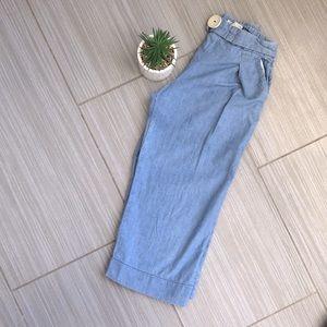 Zara girls wide leg pants